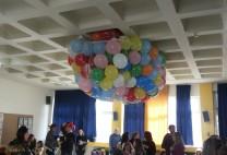 Μπαλόνια σε δίχτυ