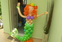 Γοργόνα με μπαλόνια