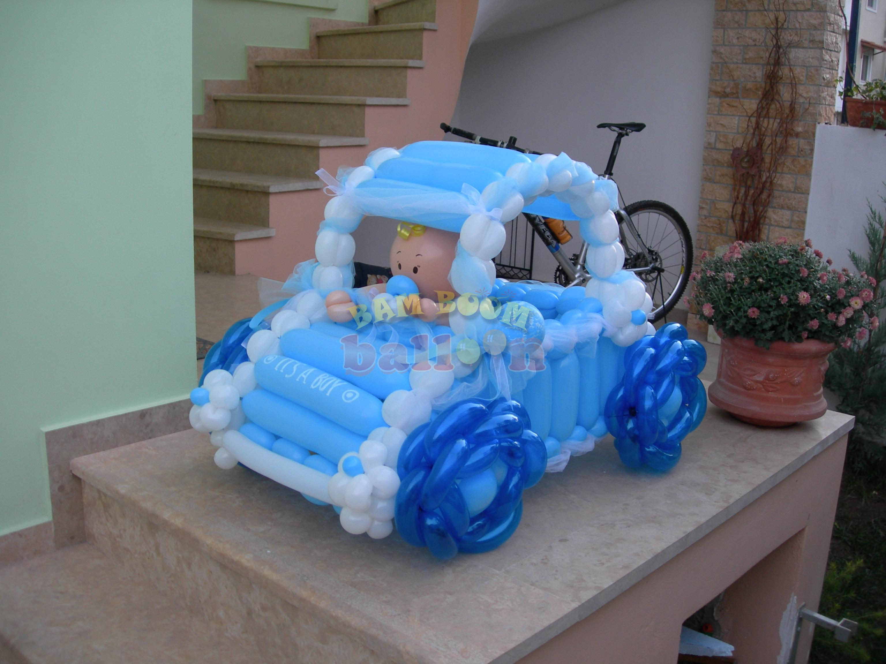Αυτοκίνητο με μπαλόνια